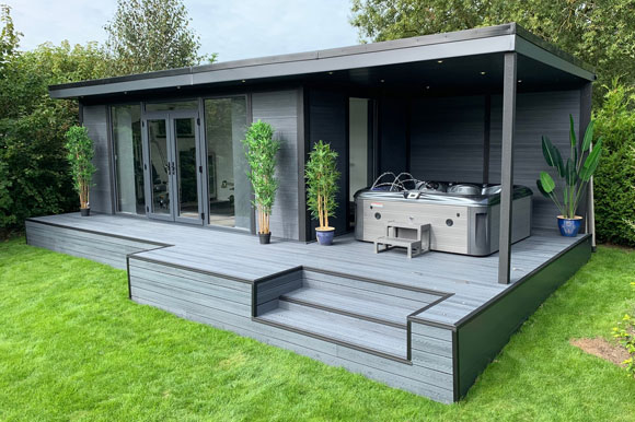 Hot Tub Garden Studio Poole