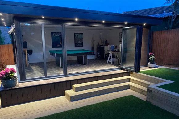 Relaxing Garden Studio Retreats Poole