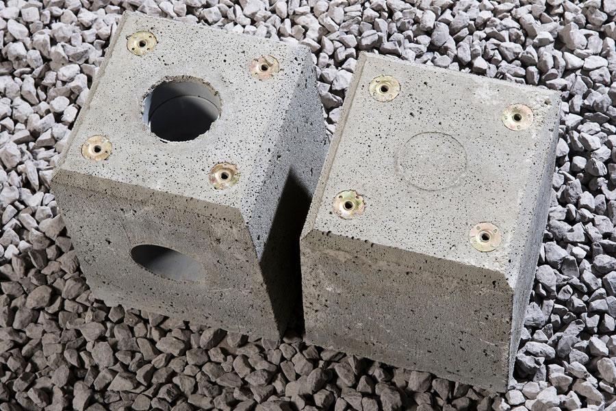 Concrete Foundation Blocks For Verandas