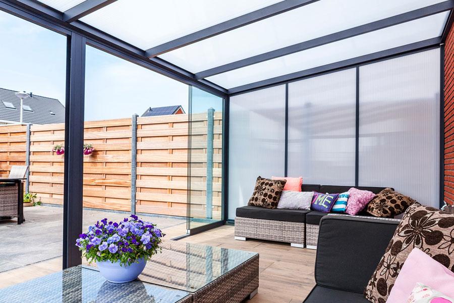 Veranda With Side Walls